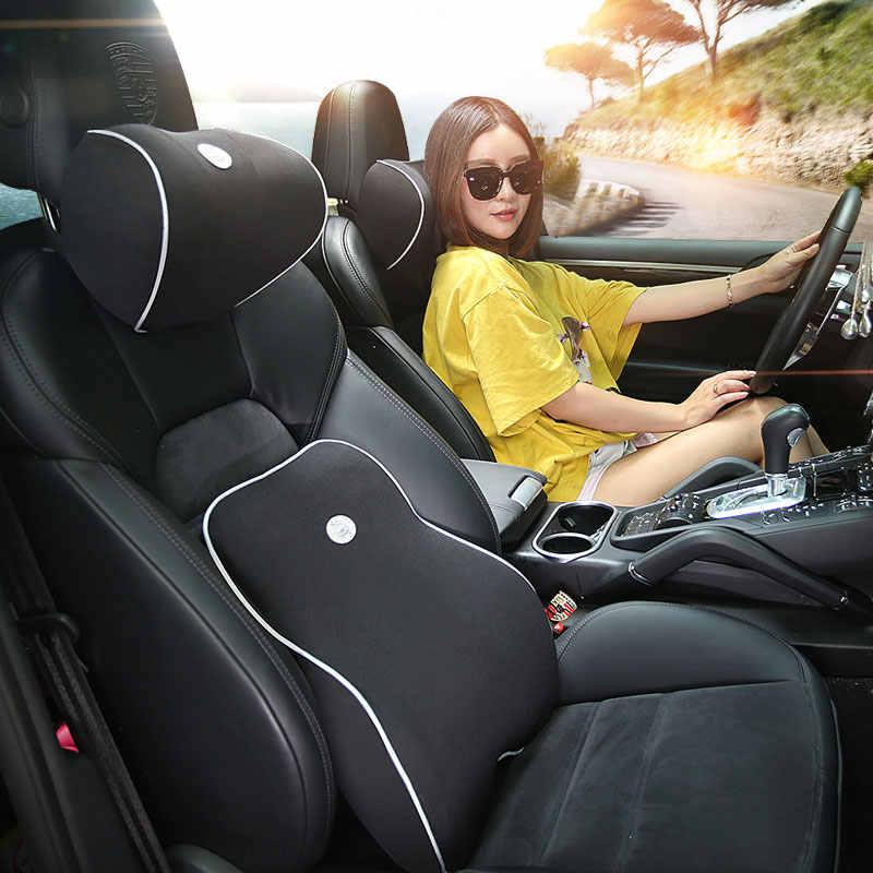 Soft Memory Foam Lumbar Cushion Waist pad Car Seat Pillows for mazda cx-3 cx-9 cx9 demio cargo familia premacy changan cs35 cs75