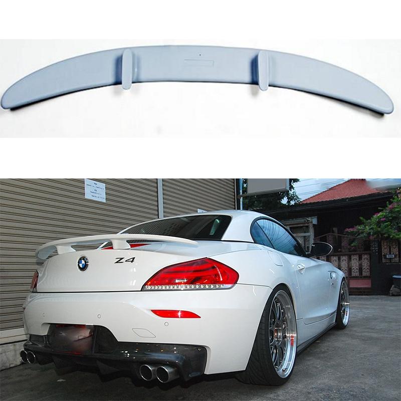 Bmw Z4 E89: Unpainted Fiberglass H Style Z4 E89 Rear Trunk Spoiler