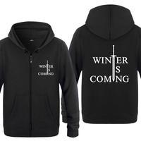 Spring Autumn Game Of Thrones Valar Morghulis Clothing Casual Sweatshirts Hoodies Unisex Jacket Coat