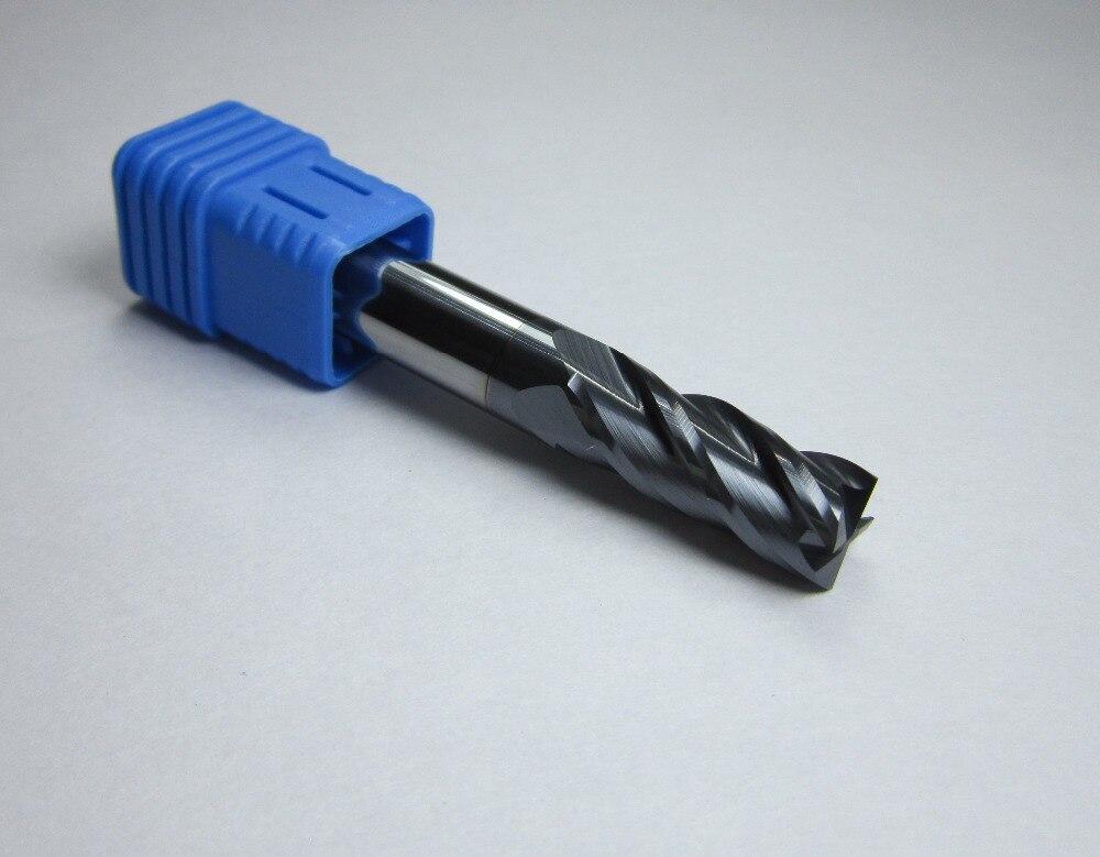 5 pcs 8.5mm x 8mm Four 4 Flute HSS /& Aluminum End Mill Cutter CNC Bit