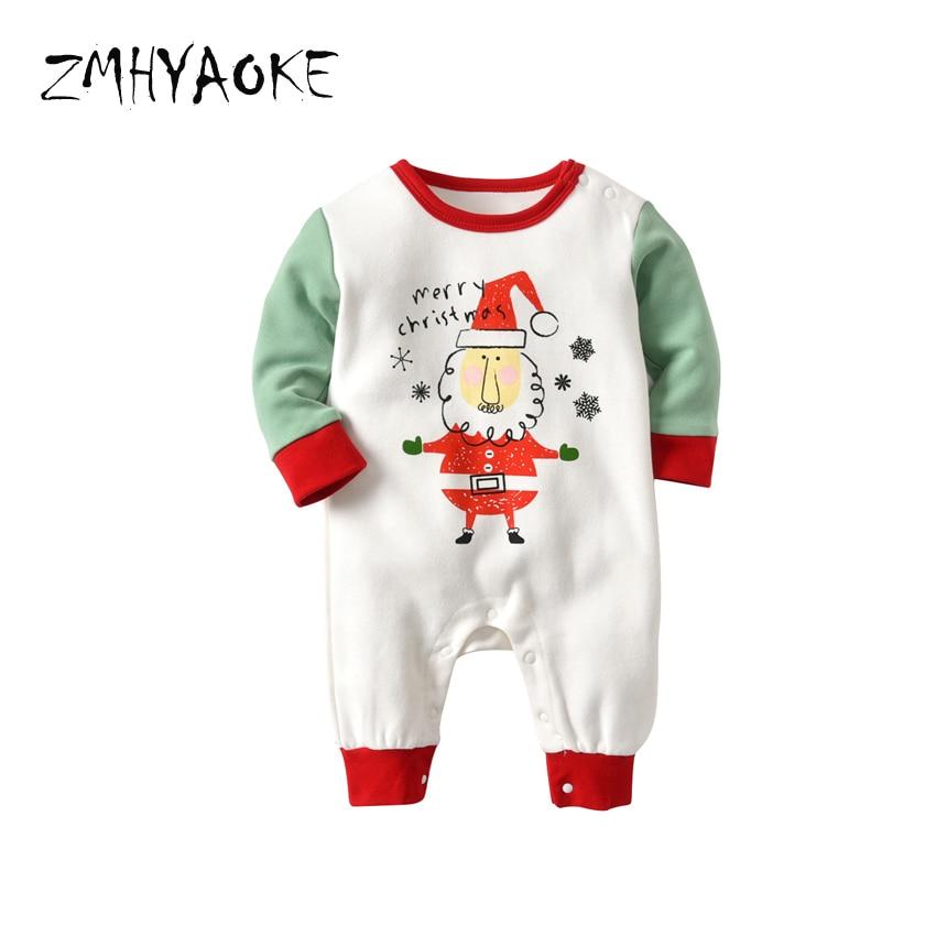 ZMHYAOKE 2018 Winter Baby Clothes Pyjamas Sets Merry Christmas Party Santa  Elk Pajama for The Boy Home Clothes Baby Girl Pyjamas-in Clothing Sets from  ... c28fbad87