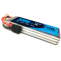 DXF RC Battery 11.1V 5000mAh 50C 100C 3S Lipo Battery For RC Helicopters Airplane Car Drone FPV Boat Truck