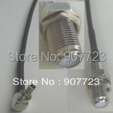 10pcs CRC9 Male To F Female Nut bulkhead RG174 Jump Cable For Huawei Modem 18cm m378a1k43cb2 crc