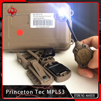 Night Evolution Airsoft Princeton Tec MPLS3 Lighting System Tactical Green Red White Led IR Helmet Cycling FlashLight
