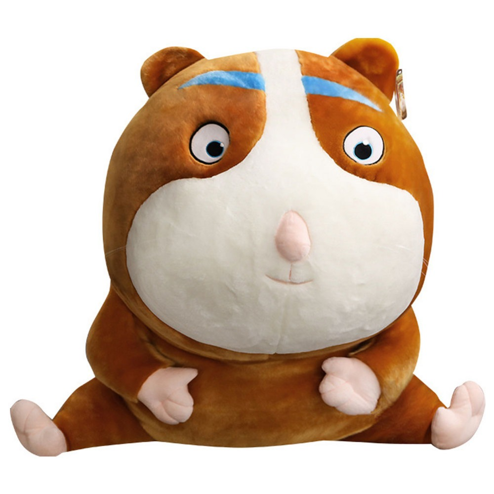30cm Owen Hamster Plush Toy Magic Circus Cartoon Doll Stuffed Animal Mouse Soft Toy Kids Birthday Gift Cute Doll for Child