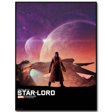 STAR LORD – Guardian of The Galaxy Art Silk Fabric Poster Print 13×18 24x32inch Superheroes Movie Picture for Room Wall Decor 43