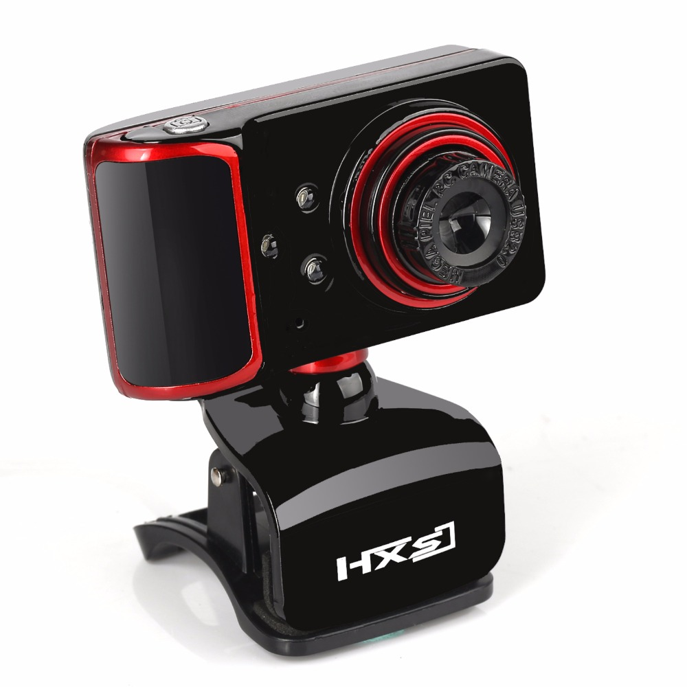 Pro HD Webcam 16 Megapixels With Microphone 3 LED Light for Night Computer Camera for Influencer Skype Youtube Veido Web Cam