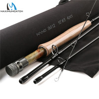 Maximumcatch NANO Nymph 10FT 3/4wt Fly Fishing Rod IM12 Graphite Carbon Fiber Fast Action Fly Rod with Cordura Tube