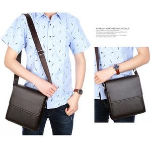 Image 3 - ใหม่มาถึงธุรกิจผู้ชายMessengerกระเป๋าVINTAGEกระเป๋าหนังCrossbodyกระเป๋าสะพายชายCasual Manกระเป๋าถือกระเป๋าแฟชั่น