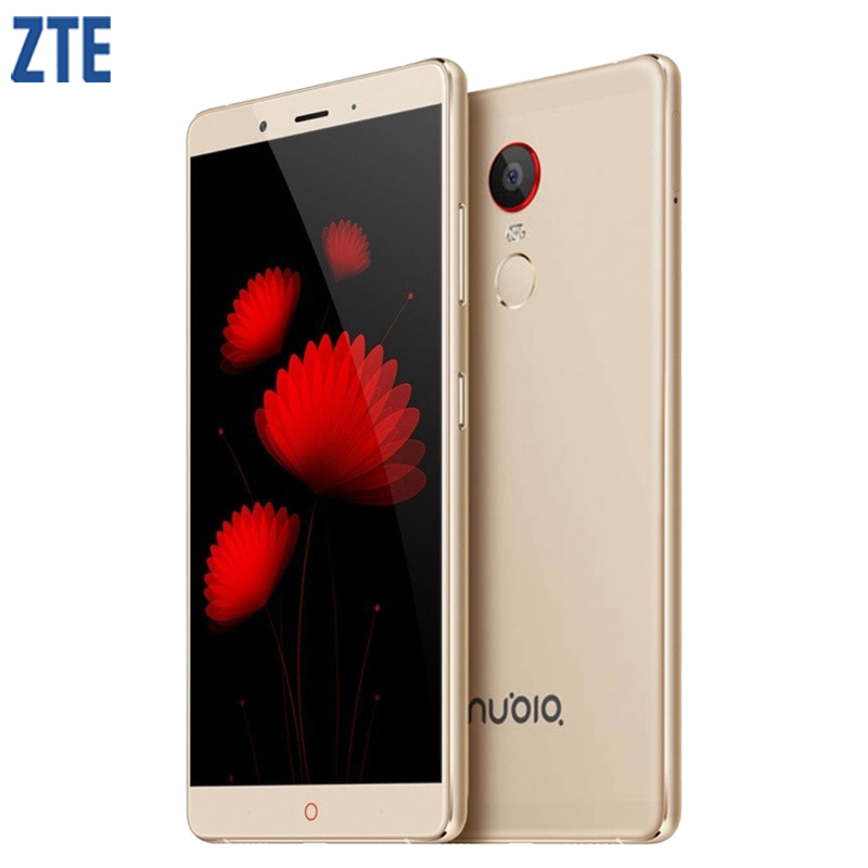 Original ZTE Nubia Z11 Max Cell Phone 3/4GB RAM 64GB ROM Snapdragon 652 Octa Core 16.0MP 6.0inch Fingerprint Mobile Phone