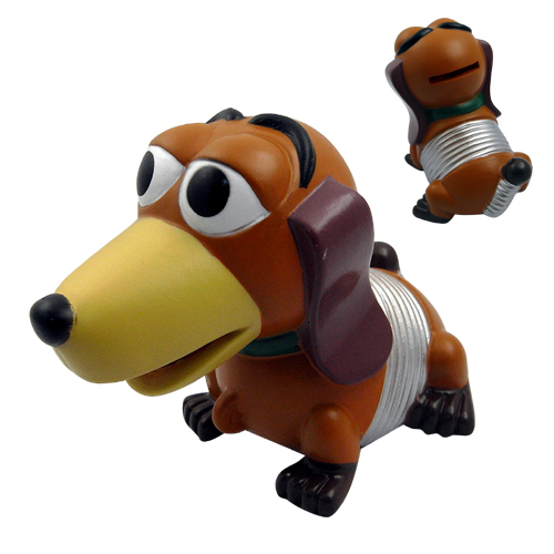 pc x nueva super lindo toy story slinky dog coin piggy money bank juguete de regalo para nios envo gratis para worldwide