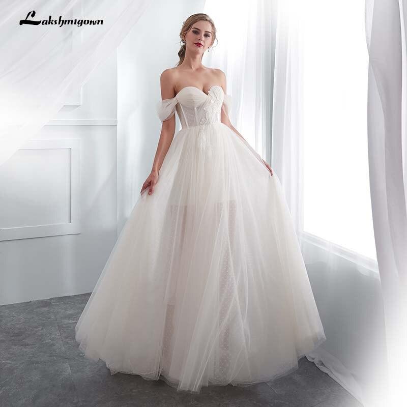 2019 Beach Bridal Dress Vestido De Noiva Sweetheart Off