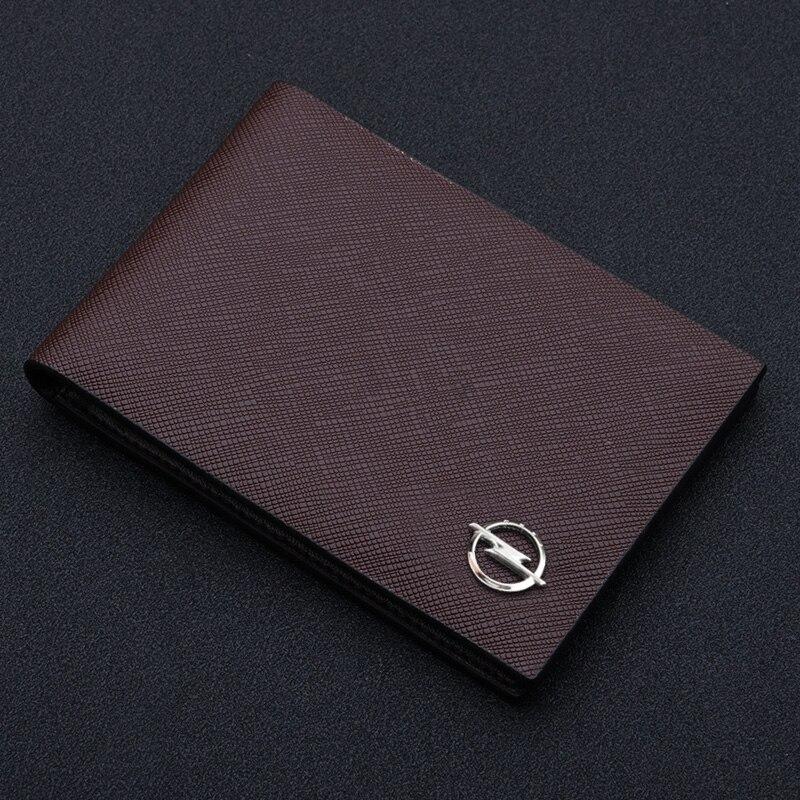 Ультратонкая автомобильная сумка для водительских прав из искусственной кожи на обложке для документов для вождения автомобиля ID держатель для карт кошелек чехол для автомобиля Opel