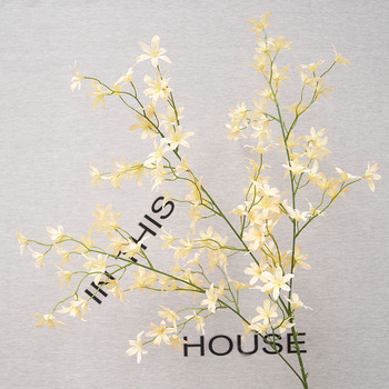 10pcs 120CM Artificial Orchid Silk Flower For DIY Wedding Decoration Scene Layout Flower Staging Hanging Garland Wedding