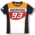 New Fashion 100% Cotton 93 Marc Marquez Motogp Shirt REPSOL motorcross Motorbike T-Shirt