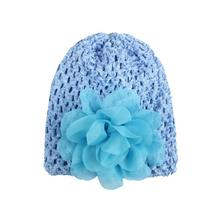 BMF TELOTUNY Fashion Summer Toddlers Infant Baby Girl Flower Hollow Out Hat Headwear Hat Apr3 Drop