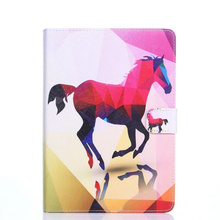 купить Universal Tablet PU Leather stand cover For ASUS MeMO Pad FHD 10 ME302KL LTE/ME302C 10.1 inch Cartoon Colourful case дешево