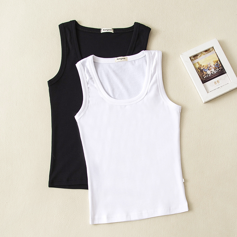 Wholesale Children Camisoles & Tanks Baby Girl Boy Tank Tops Solid Color Sleeveles Shirt 0-14 Years 5pcs/Lot Can Mix Order image