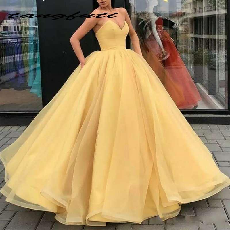 Charmante robe de bal robes de bal Simple chérie robe de soirée sans bretelles robes de soirée formelles longue robe de bal