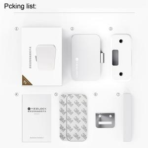 Image 5 - Youpin Yeelock Smart Ladeblok Lock Keyless Bluetooth App Unlock Anti Diefstal Kind Veiligheid Bestand Security Smart Lock