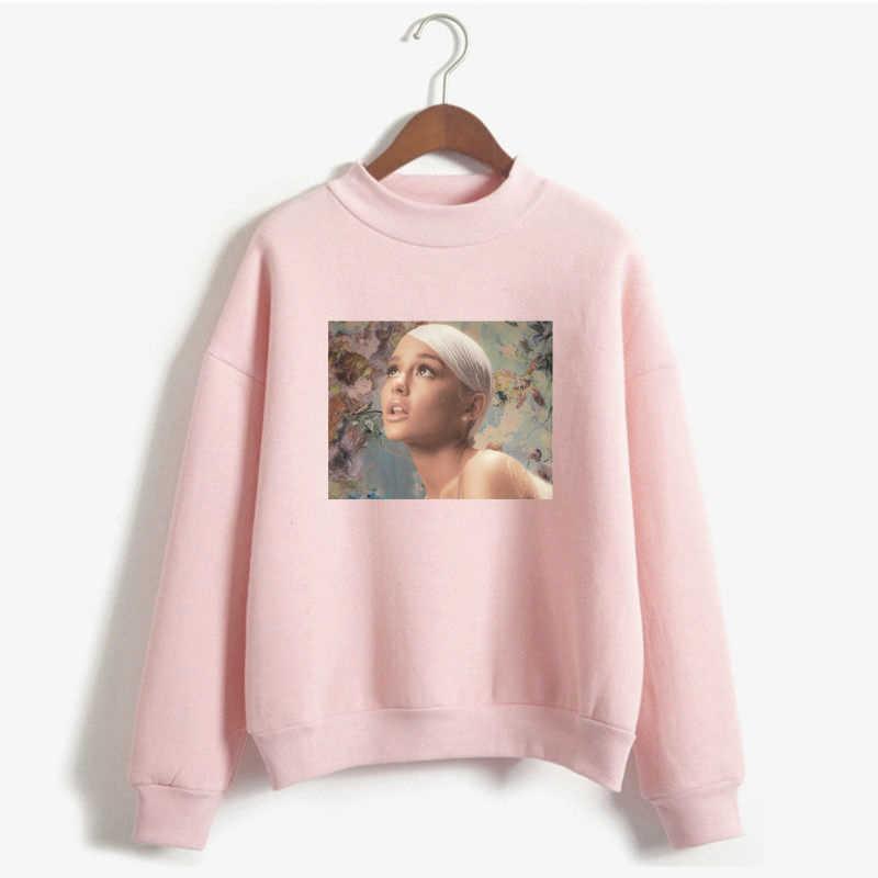 e9033fd45ee Sweetener Ariana Grande Pink Hoodies Women Harajuku Pullover Sweatshirt  Just Keep Breathin Oversized Hoodie Plus Size