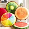 Hongbo 1 Pcs 3D Fruit Blanket Creative Pillow Cushion Quilt Home Decor Car Sofa Seat Travel