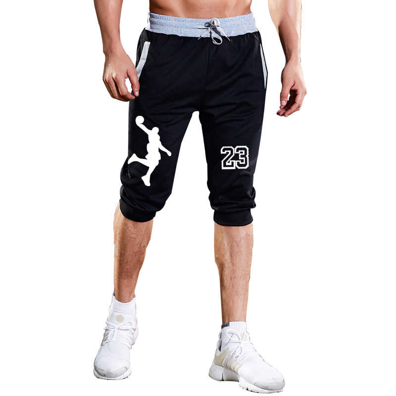 42d1e01c6ac7 2019 Summer New Mens shorts Jordan 23 letters Printed Casual Fashion Jogger  Knee Length Sweatpants Man