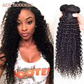 Peruvian Kinky Curly Virgin Hair 3 Bundles Peruvian Curly Hair Very Soft Peruvian Virgin Hair Tissage Bresilienne Curly ACE Hair