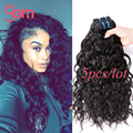 Indian Virgin Hair Water Wave 5pcs lot Wet and Wave Human Hair Weave Raw Virgin Indian Hair Ocean Wave Soft Indian Hair Bundles