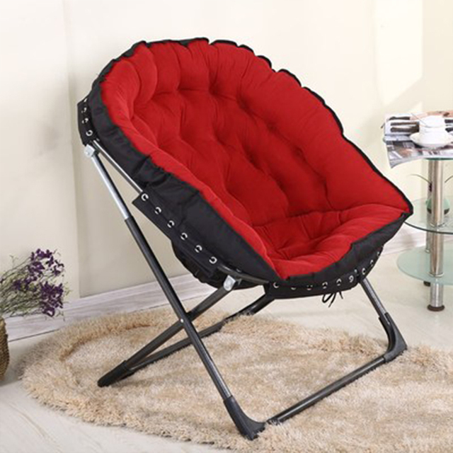 Super Cushty Foldable Camping Armchair, Just add the Cold Drinks !