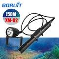 BORUIT светодиодный Xml-U2 профессиональный фонарик для дайвинга div10 Подводный фонарь для дайвинга аксессуары