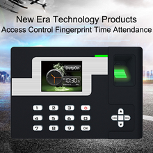 Biometric Time Attendance System Fingerprint Reader Access Control Clock Employees Device TCP/IP USB Fingerprint Time Attendance цена