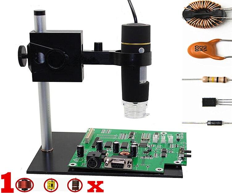 USB Digital Electronic Microscope Portable 8 LED Digital Camera Microscope Endoscope Magnifier 1000X