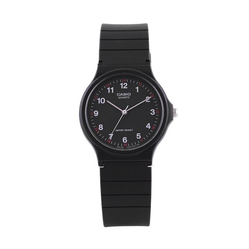 Casio Watch Pointer Series Black Quartz Men and Women Watch MQ 24 1B