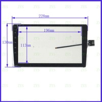 NEUE 9 zoll XY-PG90097-9.0 Kompatibel KAPAZITIVE screen-panel TouchSensor 228*130mm