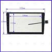 NOVA 9 polegada TouchSensor XY-PG90097-9.0 Compatível painel da tela CAPACITIVA 228*130mm