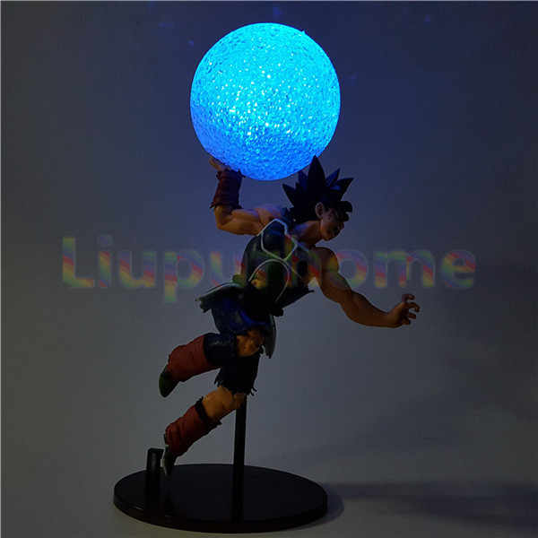 Light-up Brinquedos Dragon Ball Z Bardana Luzes Led Night Lamp Kamehameha Anime Dragon Ball Z DBZ Goku luz Led Lampara Levou