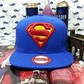 Boné de beisebol Superman Maravilha Snapback chapéus para mulheres dos homens da marca hip hop motocicleta skate bonés trucker golf osso presente da moda