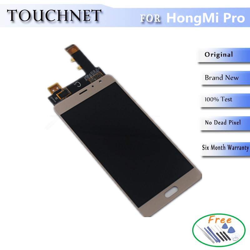 ФОТО 2Pcs/Lot 6Months Warrantys' HD Screen LCD With Digitizer Touch Screen Assembly For HongMi /Red Mi/XiaoMi Pro Smartphone