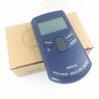 Gỗ kỹ thuật số đồng hồ đo ẩm gỗ Độ Ẩm Meter Làm Ẩm Detector Tester Giấy moisture meter tường phân tích độ ẩm MD918 4 ~ 80%