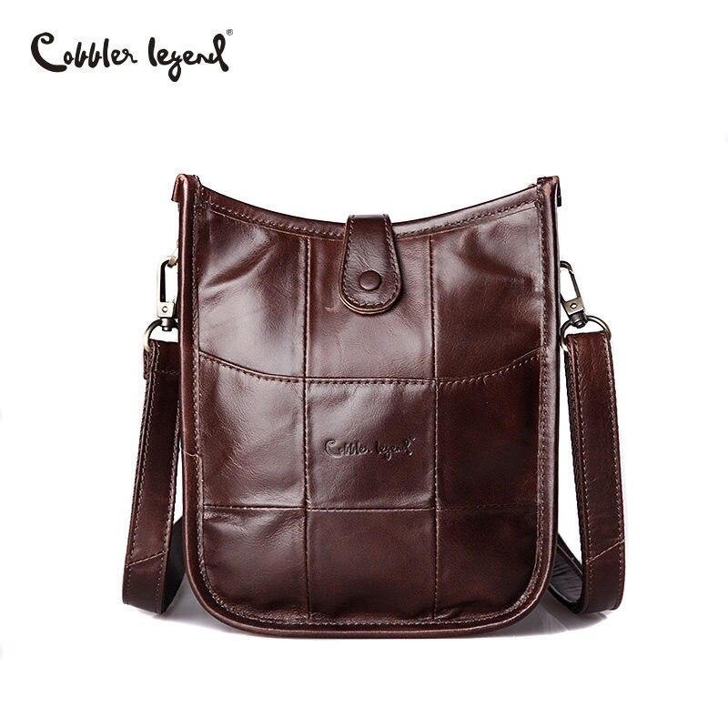 Cobbler Legend 2019 Brand Women Genuine Leather Bags Female Small Shoulder Bag High Quality Ladies Crossbody