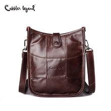 Cobbler Legend 2019 Brand Women Genuine Leather Bags Female Small Shoulder Bag High Quality Ladies Crossbody Handbag Famous
