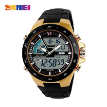 SKMEI Fashion Men Sports Watch 5Bar Waterproof Designed Running Outdoor Wristwat