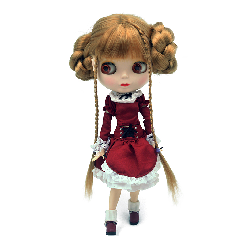 Blyth Doll BJD,Neo Blyth Doll Nude Customized Matte Face Dolls Can Changed Makeup and Dress DIY,1/6 Ball Jointed Dolls SNO4Blyth Doll BJD,Neo Blyth Doll Nude Customized Matte Face Dolls Can Changed Makeup and Dress DIY,1/6 Ball Jointed Dolls SNO4