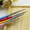 2016 12 Pcs colorido decorações Nail Art Designer Pen lápis escova pontilhado pintura ferramentas de acrílico 5VZY 7H62 8LNS