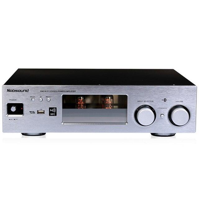NOVO amplificador valvulado Nobsound PM5 com Bluetooth NFC USB FLAC  lossless leitor de música Estéreo de 71fa134609