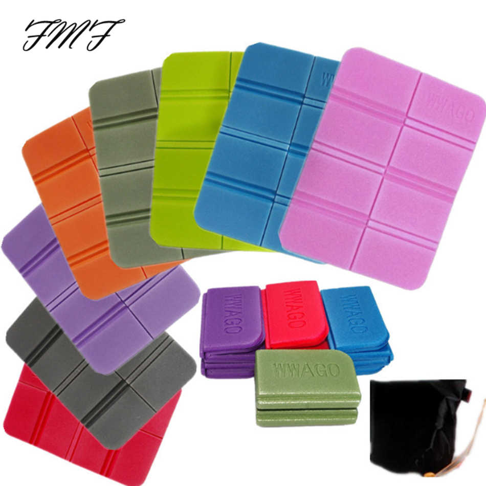 Portable Camping Beach Mats Cushion Folding Foam Folding Size 14*8*6cm Portable Soft Waterproof Picnic Mat Non-toxic