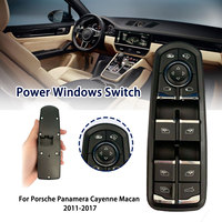 Electric Power Master Window Rearview Mirror Control Switch 7PP959858M 7PP959858A For Porsche Panamera Cayenne Macan 2011 2017