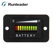 LED 12 В 24 В свинцово-кислотный жидкости Батарея индикатор уровня Батарея метр тестер для Гольф тележки автомобиля Водные Лыжи Мотоцикл rl-bi003
