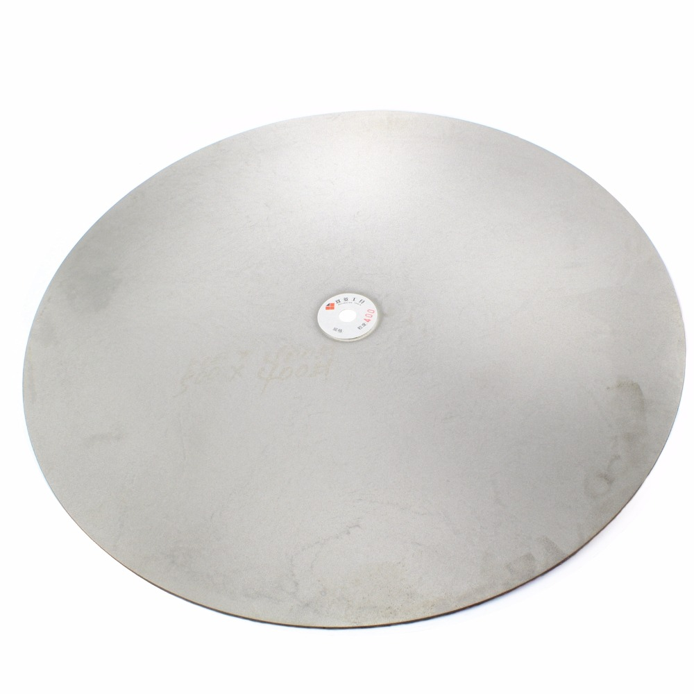 24 inch 600mm Grit 60 600 Diamond Grinding Disc Abrasive Wheels Coated Flat Lap Disk Jewelry